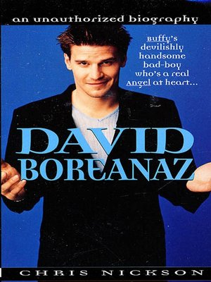cover image of David Boreanaz